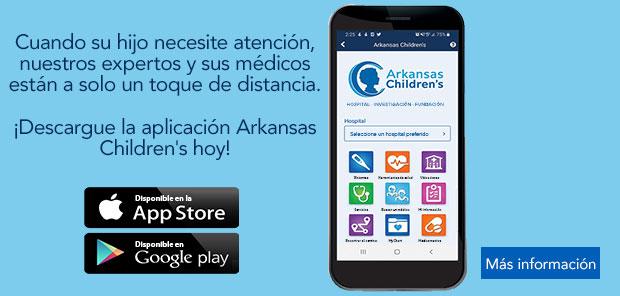 Obtenga más información sobre la aplicación móvilMyACH paralos niños de Arkansas